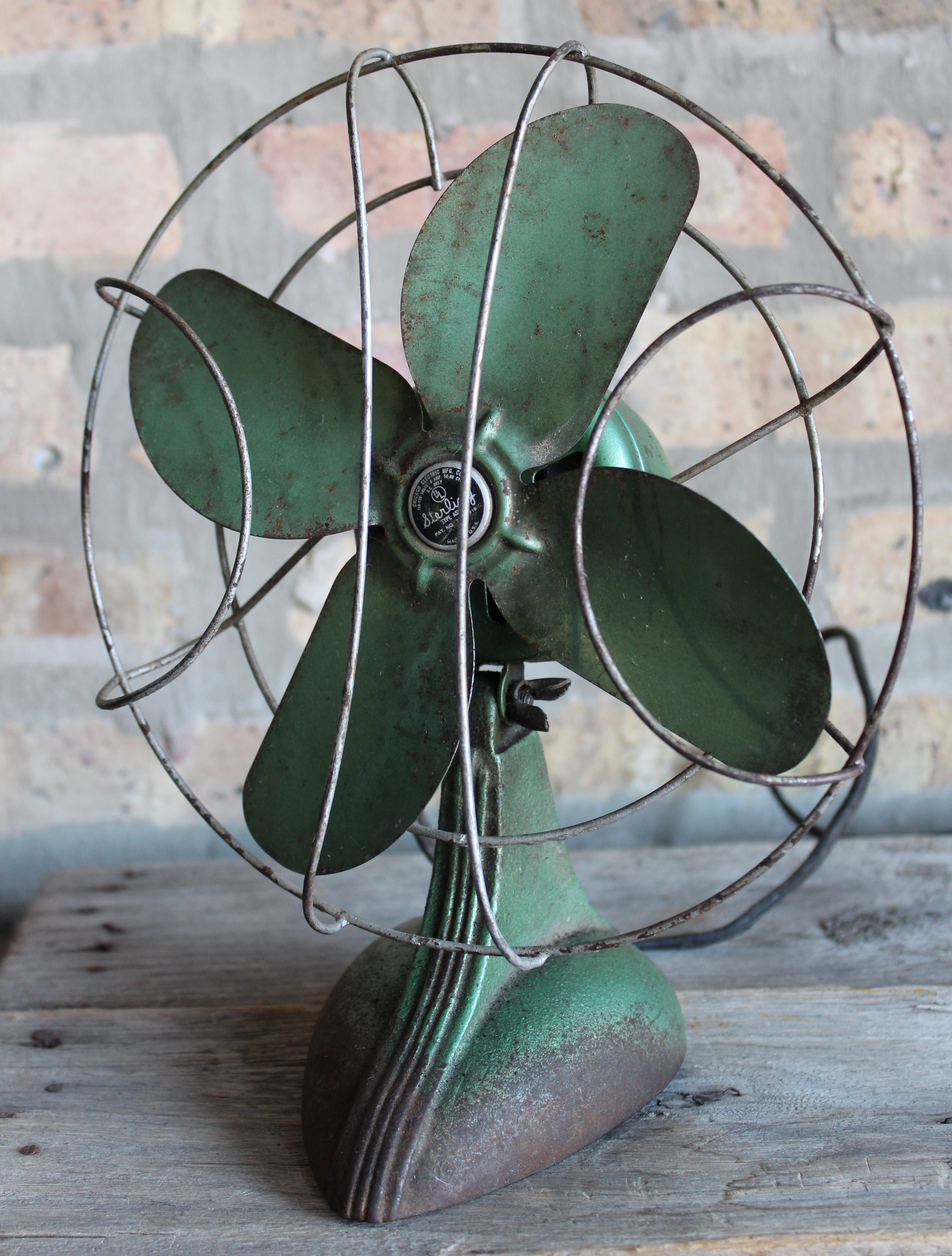 Sterling Desk Fan By Chicago Electric Mfg Co C 1940 Made In Blower Motor Wiring Diagram Museum