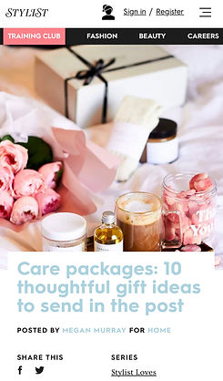 Luxury Gift Ideas Stylist Palette