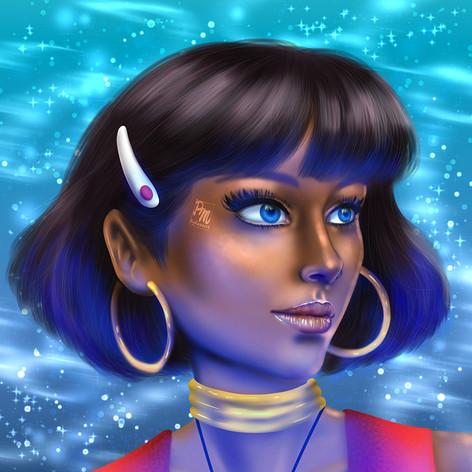 Nadia - Il Mistero della Pietra Azzurra Fan Art