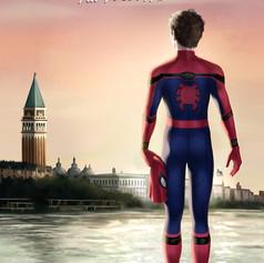 Spider Man Fan Art Poster