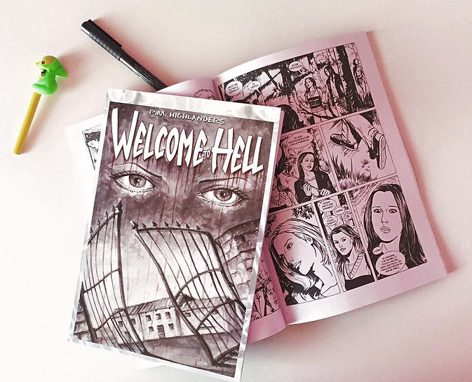 WelcomeToHell_PMHighlanders fumetto comic book