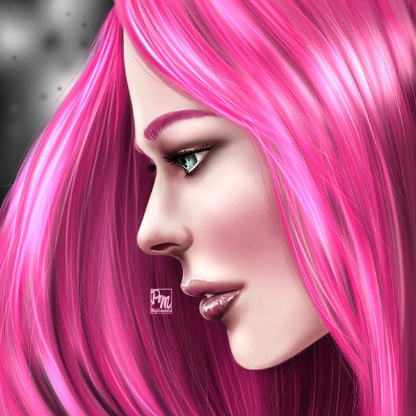 Pink girl - pmhighlanders