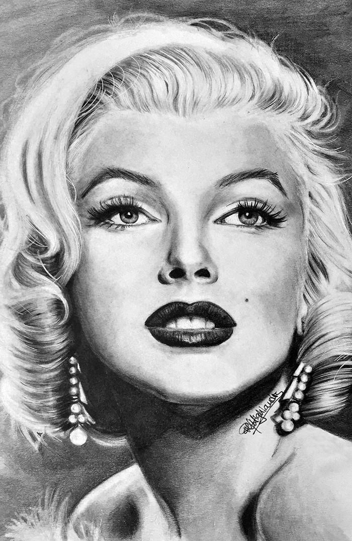 Marilyn Monroe fan art - pmhighlanders