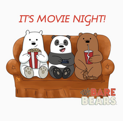 We Bare Bears official fan art - pmhighl
