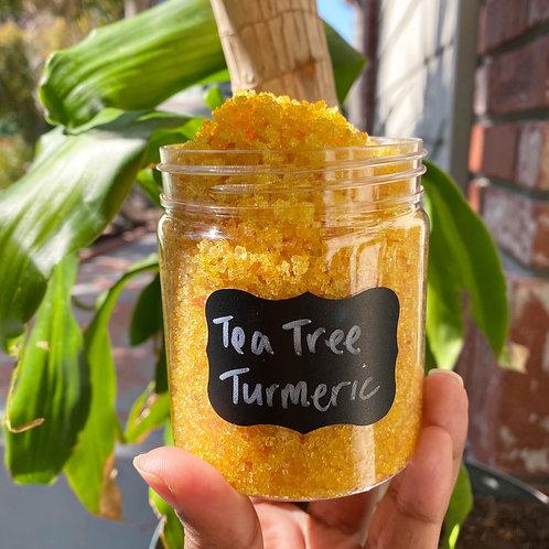 Tea Tree Turmeric Sugar Scrub