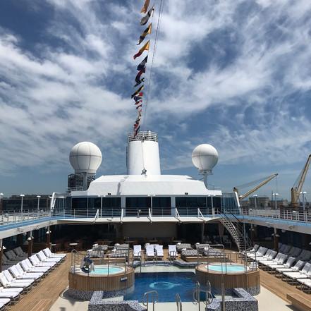 On board Oceania Nautica