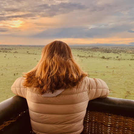 Hot Air Ballooning over the Serengeti Plains