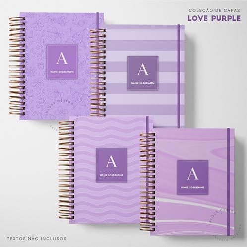 Coleção de Capas Love Purple