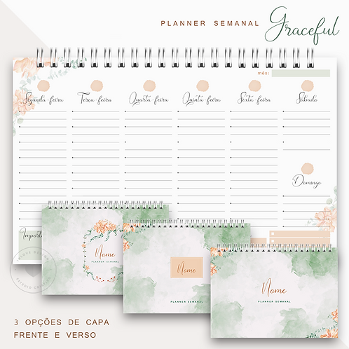 Planner Semanal Graceful