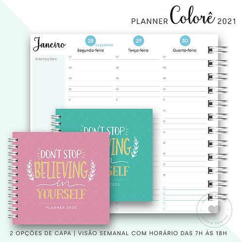 Planner 2021 Colorê
