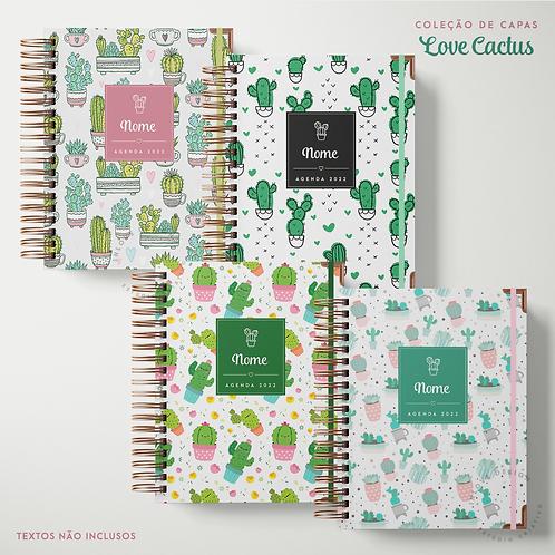 Coleção de Capas Love Cactus