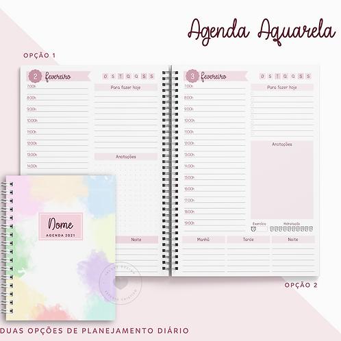 Agenda Permanente Aquarela