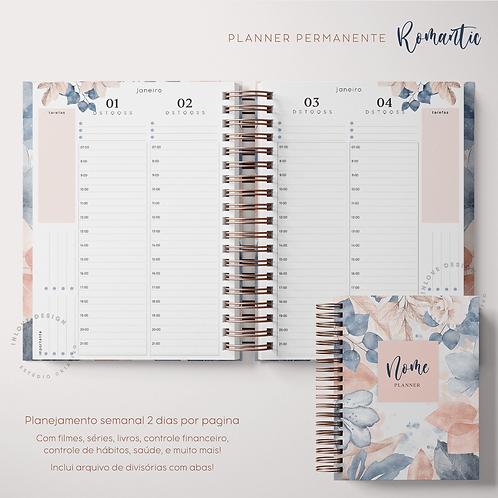 Planner Permanente Romantic