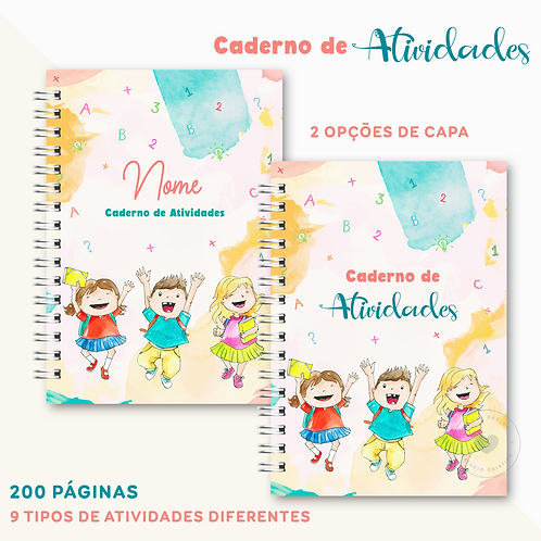 Caderno de Atividades Infantil