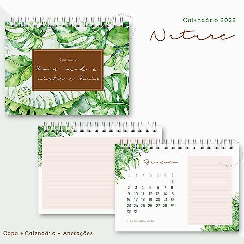 Calendário 2022 Nature