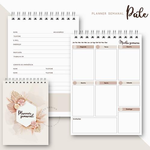 Planner Semanal Pale