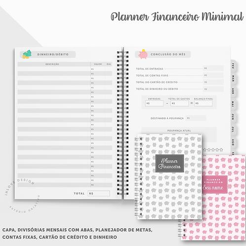 Planner Financeiro Minimal
