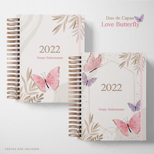 Duo de Capas Love Butterfly