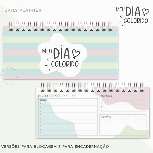 Daily Planner Meu Dia Colorido