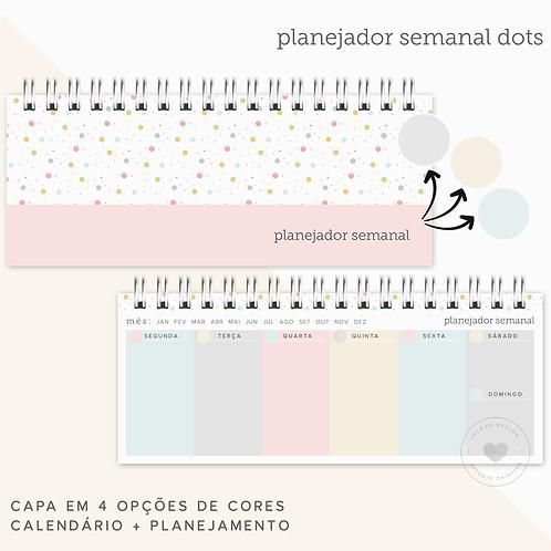 Planner Semanal Dots