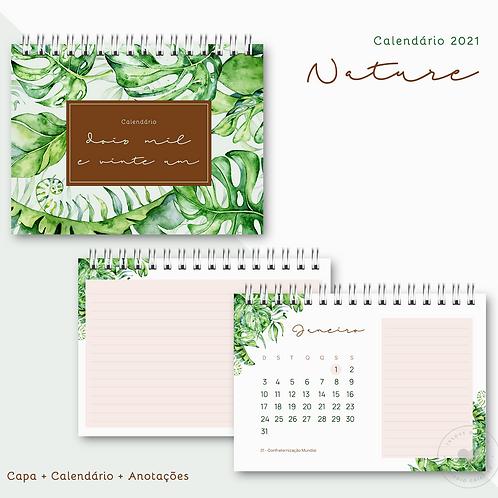 Calendário 2021 Nature
