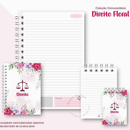 Coleção Universitária Direito Floral