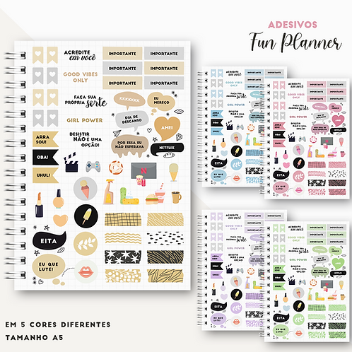 Adesivos Fun Planner
