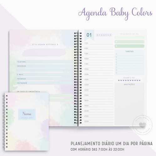 Agenda Permanente Baby Colors