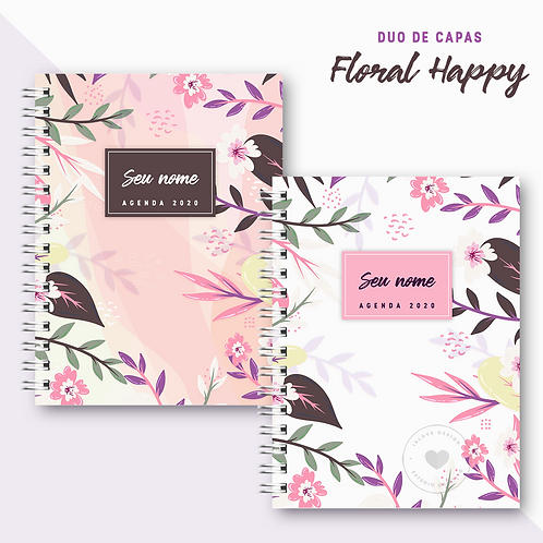 Duo de Capas Floral Happy