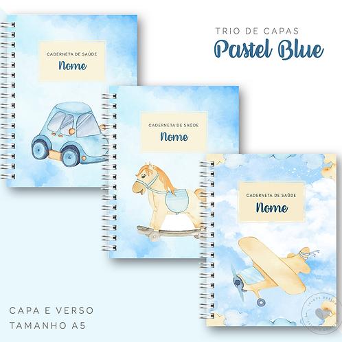 Trio de Capas Pastel Blue