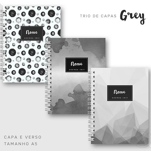 Trio de Capas Grey