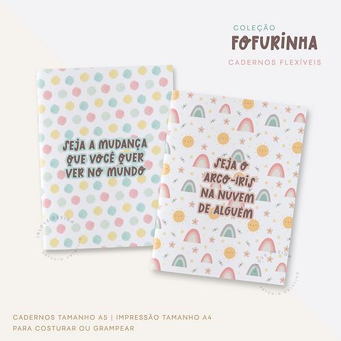 Coleção Fofurinha (Cadernos Flexíveis)
