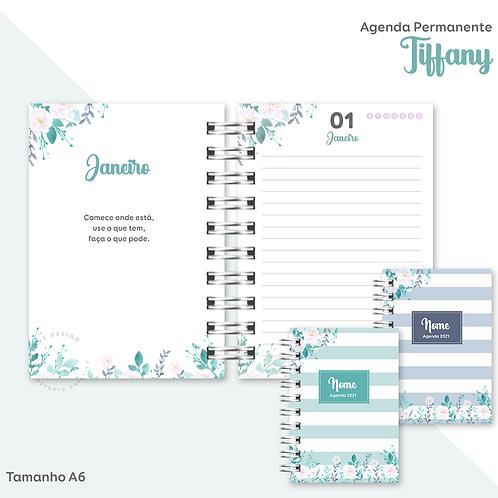 Agenda Permanente Tiffany A6