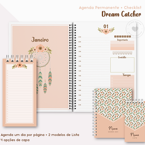 Agenda Permanente Dream Catcher + Lista