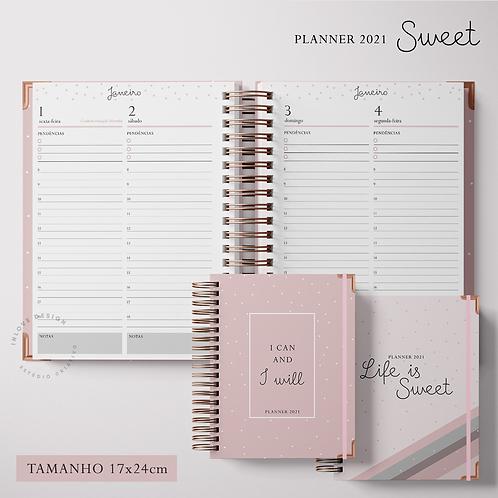 Planner 2021 Sweet 17x24cm