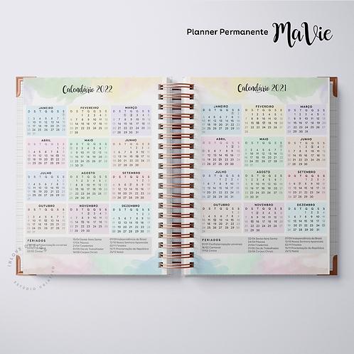 Calendário 2021/2022 Planner MaVie A5