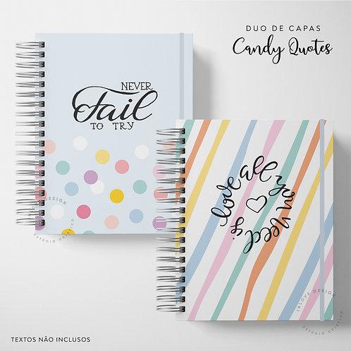 Duo de Capas Candy Quotes