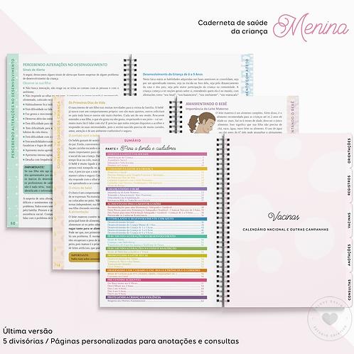 Caderneta de Saúde da Criança MENINA