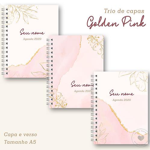 Trio de Capas Golden Pink
