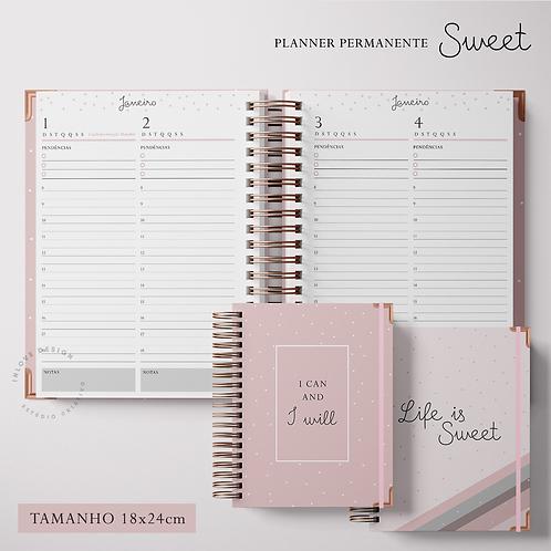 Planner Permanente Sweet 17x24cm