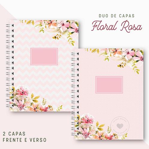 Duo de Capas Floral Rosa