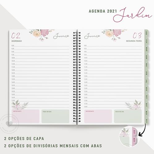 Agenda 2021 Jardim