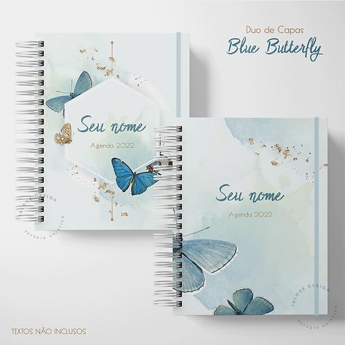 Duo de Capas Blue Butterfly