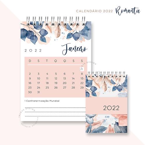 Calendário 2022 Romantic