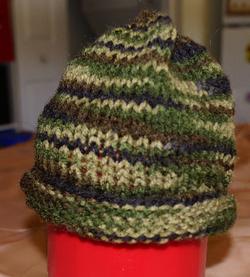 Knit Preemie Hat