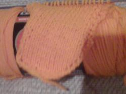 Knit a blanket in strips