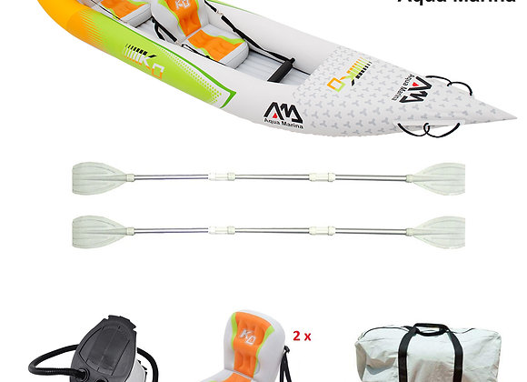 Aquamarina Tandem Reinforced Inflatable Kayak