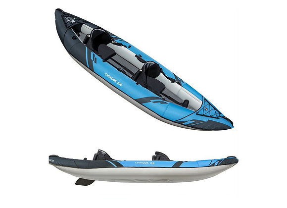 Aquaglide Chinook 100- 2020 Model (Two or one person Inflatable Kayak)