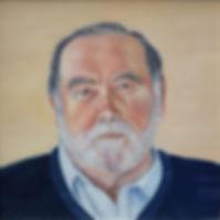 """""""John"""" Oil on Canvas 2019"""
