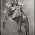 Jeremy Davis - Reclining Female- Charcoa
